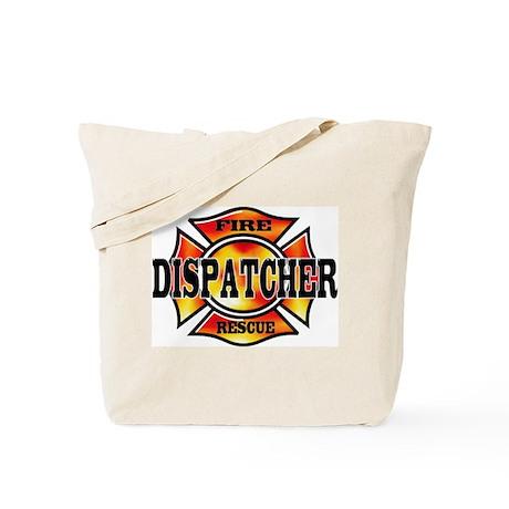 Fire Dispatcher Tote Bag