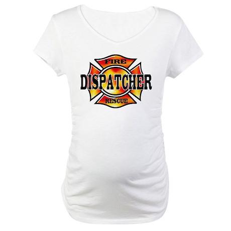 Fire Dispatcher Maternity T-Shirt