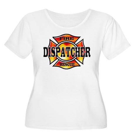 Fire Dispatcher Women's Plus Size Scoop Neck T-Shi