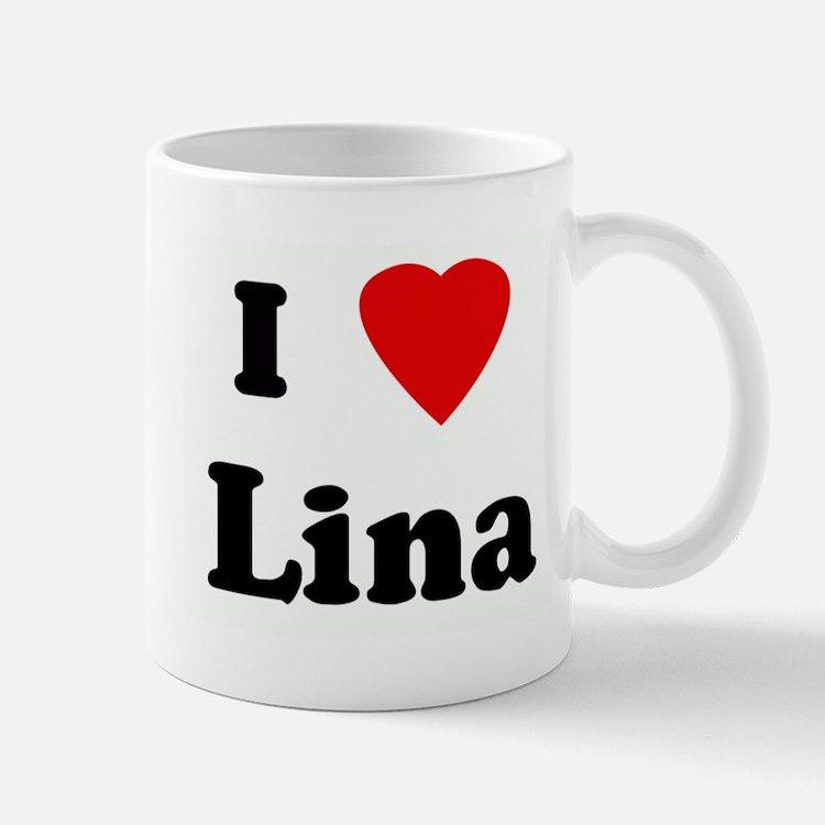 I Love Lina Mug