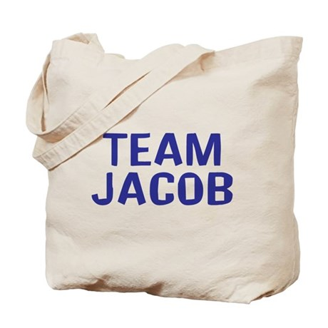 Team Jacob(Dark Blue) Tote Bag