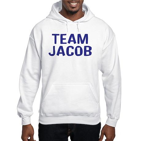Team Jacob(Dark Blue) Hooded Sweatshirt