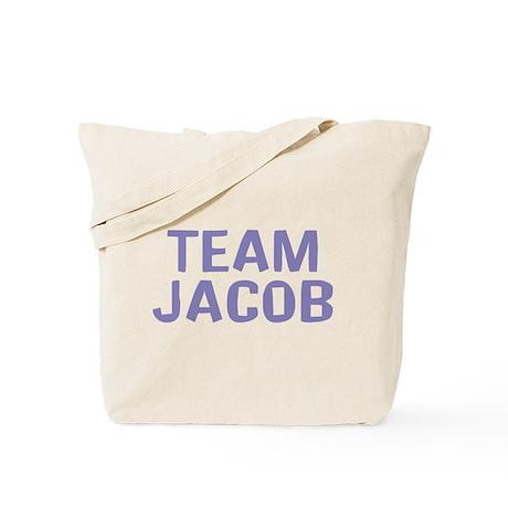 Team Jacob(Light Purple) Tote Bag