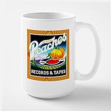 Peaches Records & Tapes Large Mug