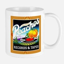 Peaches Records & Tapes Mug