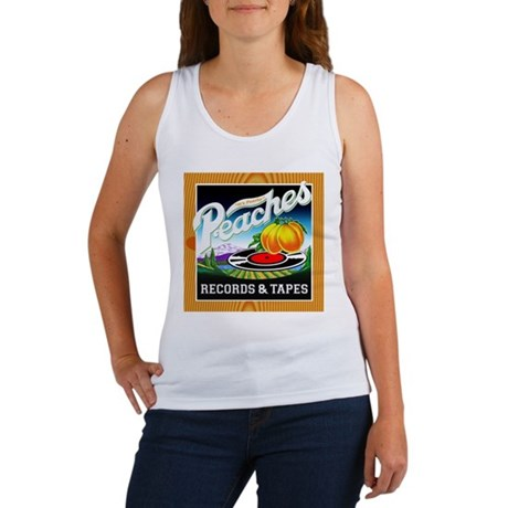 Peaches Records & Tapes Women's Tank Top