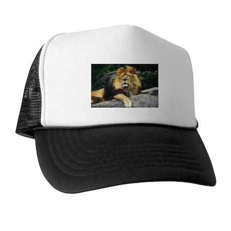 Male Lion Trucker Hat