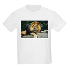 Male Lion Kids T-Shirt