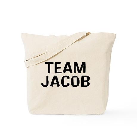 Team Jacob(Black) Tote Bag