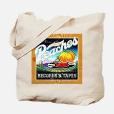 Peaches Records & Tapes Distr Tote Bag
