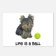 Yorkie Life Postcards (Package of 8)