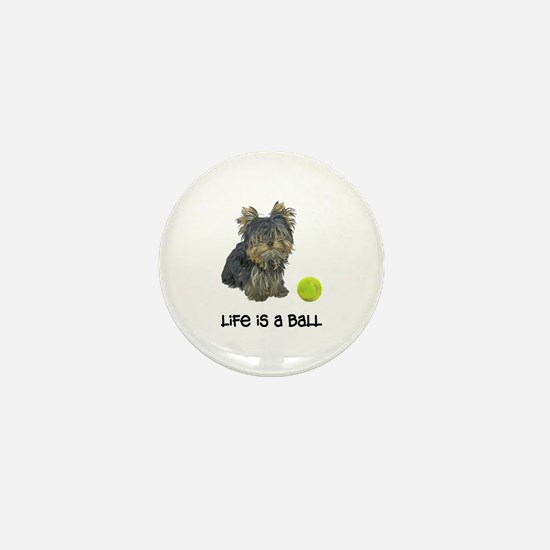 Yorkie Life Mini Button