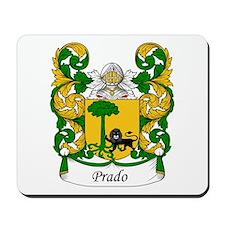 Prado Family Crest Mousepad