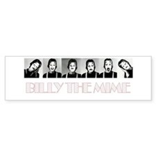 Billy The Mime Bumper Bumper Sticker