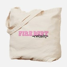 Fire Dept Cousin Jersey Style Tote Bag