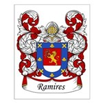 Ramires Family Crest Small Poster
