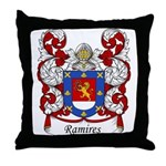Ramires Family Crest Throw Pillow