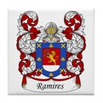 Ramires Family Crest Tile Coaster