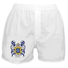 Rangel Family Crest Boxer Shorts