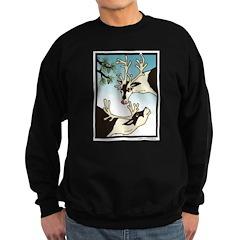 2 Reindeer Pine Sweatshirt