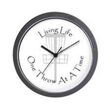 Unique Golfing Wall Clock
