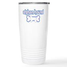Powderpuff Afghan Hound Travel Mug