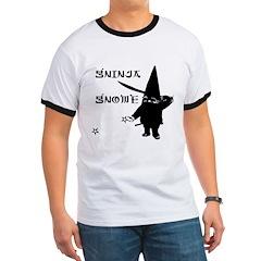 Gninja Gnomes Ringer T