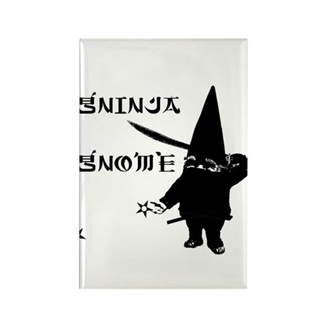 Gninja Gnomes Rectangle Magnet (100 pack)