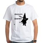 Gninja Gnomes White T-Shirt