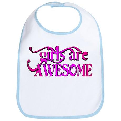 girls are AWESOME! Bib
