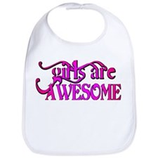 girls are AWESOME! Bib