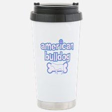 Powderpuff American Bulldog Stainless Steel Travel