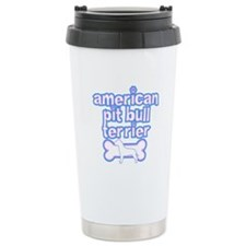 Powderpuff Pit Bull Travel Mug