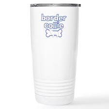 Powderpuff Border Collie Travel Mug