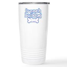 Powderpuff French Bulldog Travel Mug