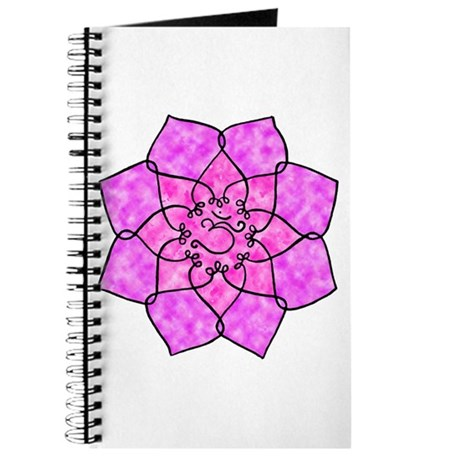 Om Lotus (Watercolor) Journal
