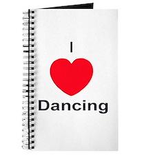Dancing Dancers Danced Dance Journal