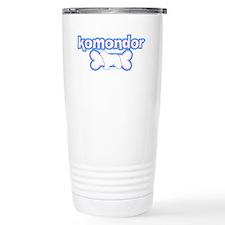 Powderpuff Komondor Travel Mug