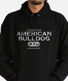 Property of an American Bulldog Hoodie (dark)