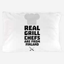 Real Grill Chefs are from Finland Ckwx Pillow Case