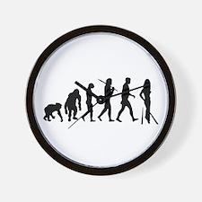 Models Catwalk Fashion Wall Clock