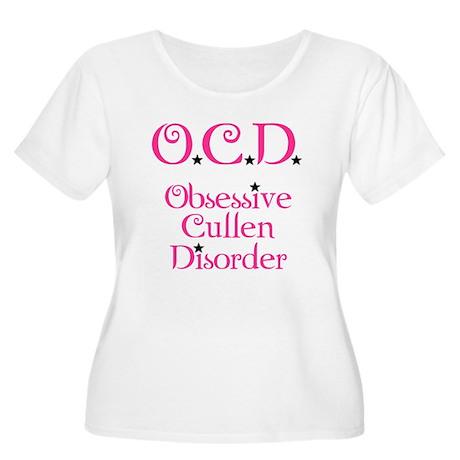 O.C.D. Women's Plus Size Scoop Neck T-Shirt