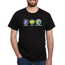 Peace Love MG Beads T-Shirt