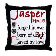 Jasper: Saved by Love Throw Pillow