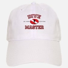 Red Dive Master Baseball Baseball Cap