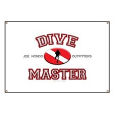 Red Dive Master Banner