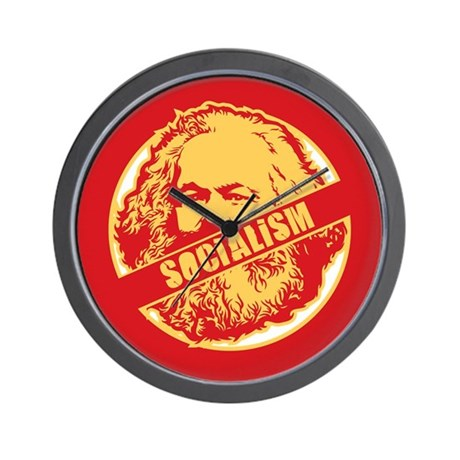 No Socialism Wall Clock