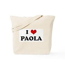 I Love PAOLA Tote Bag