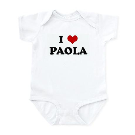 I Love PAOLA Infant Bodysuit
