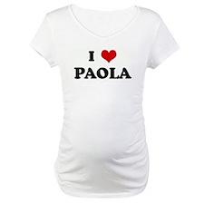I Love PAOLA Shirt